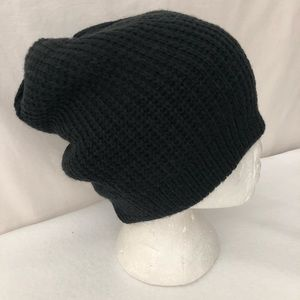 Free People Accessories - OS Free People Everyday Slouchy Ribbed Knit Beanie